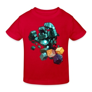 Hero on a Tshirt - Kids' Organic T-shirt