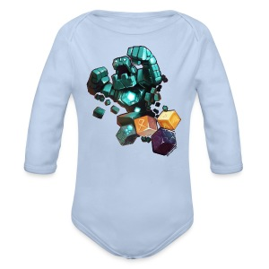 Hero on Baby - Organic Longsleeve Baby Bodysuit