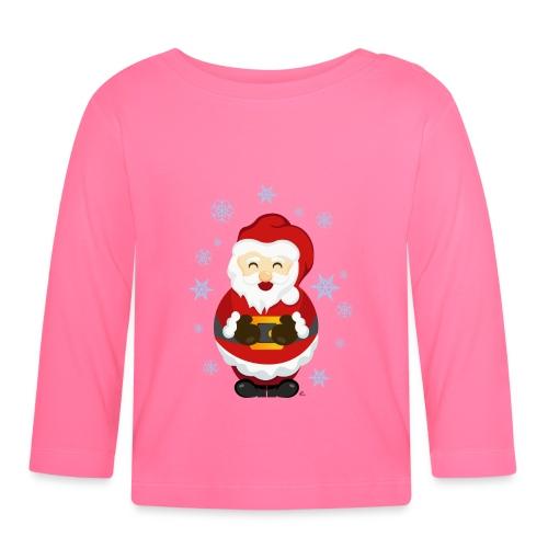 T-Shirt Bébé Père Noël - T-shirt manches longues Bébé