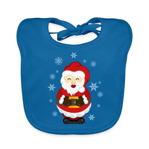 Bavoir Père Noël - Bavoir bio Bébé