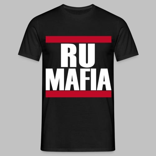 RU-MAFIA T-Shirt Schwarz - Männer T-Shirt