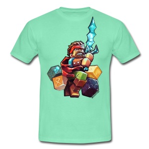 Hero on a Tshirt - Men's T-Shirt
