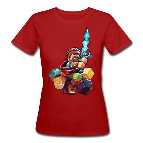Hero on a Tshirt - Women's Organic T-shirt
