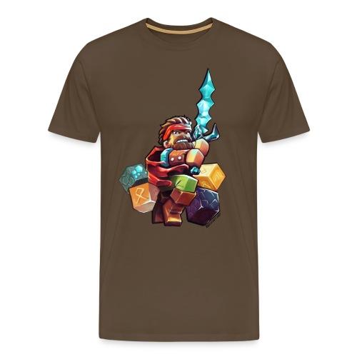 Hero on a Tshirt - Men's Premium T-Shirt