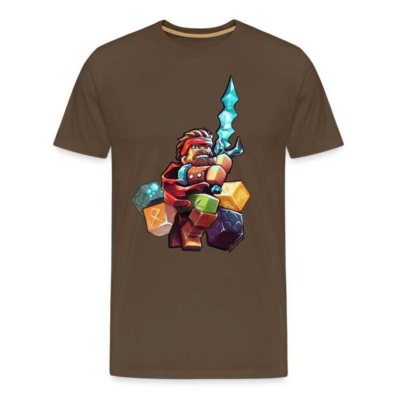 Hero on a Tshirt - Men's Premium T-Shirt