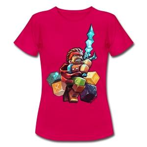 Hero on a Tshirt - Women's T-Shirt