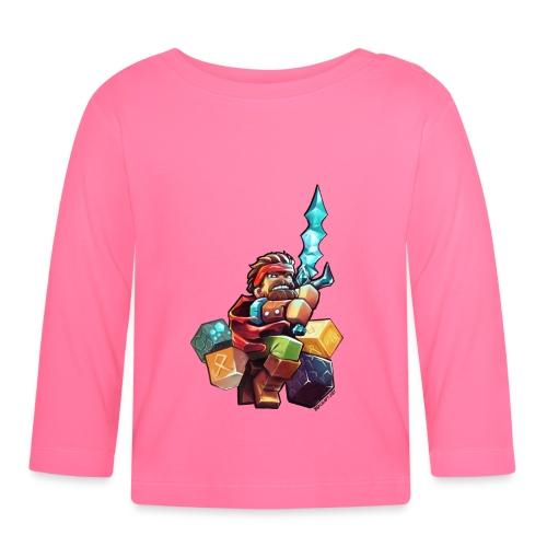 Alien on a Tshirt - Baby Long Sleeve T-Shirt