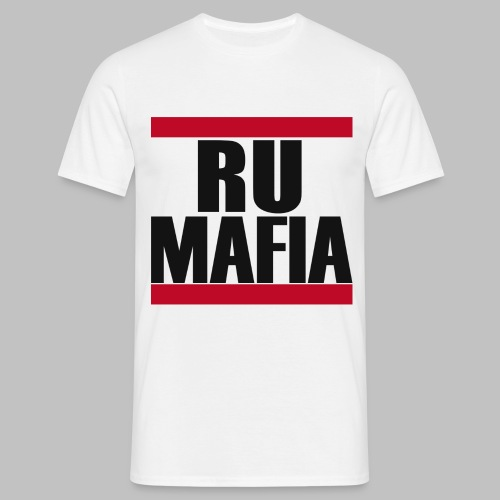 RU-MAFIA T-Shirt Weiß - Männer T-Shirt