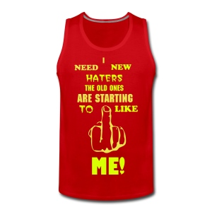I need new haters - Herre Premium tanktop