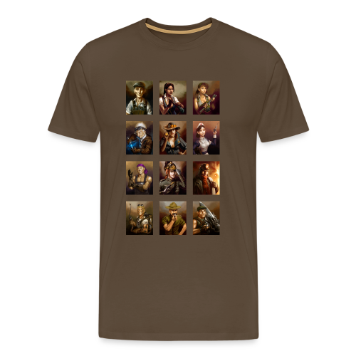 Crew T-Shirt (Men) - Men's Premium T-Shirt