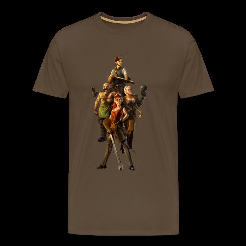 Leaders T-Shirt (Men) - Men's Premium T-Shirt