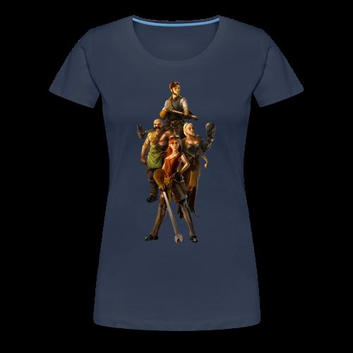 Leaders T-Shirt (Woman) - Women's Premium T-Shirt