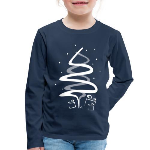 T-Shirt Enfant Sapin de Noël - T-shirt manches longues Premium Enfant