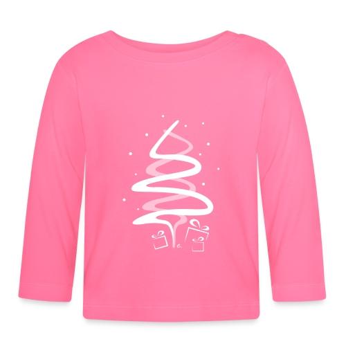 T-Shirt Bébé Sapin de Noël - T-shirt manches longues Bébé