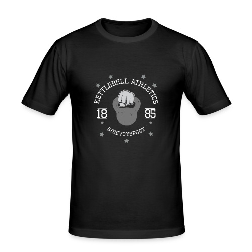 Männer T-Shirt Kettlebell-Athletics (Slim Fit) - Männer Slim Fit T-Shirt