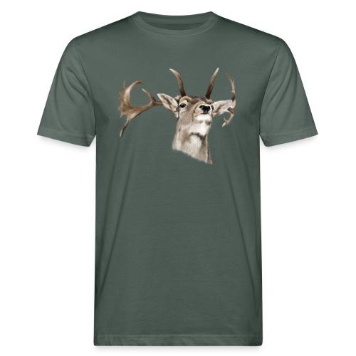 Hirsch - Männer Bio-T-Shirt