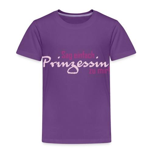 Nenn mich einfach Prinzessin - Kinder Premium T-Shirt