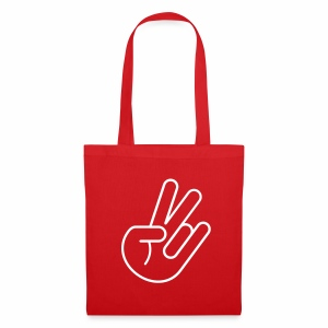 JDM Peace Hand (Outline) - Tote Bag