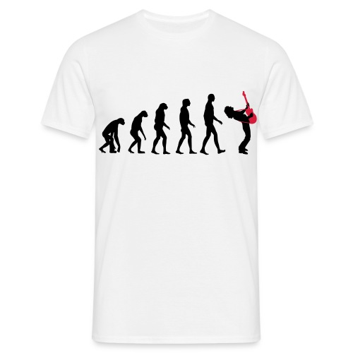 The Evolution Of Rock Tee - mens - Men's T-Shirt