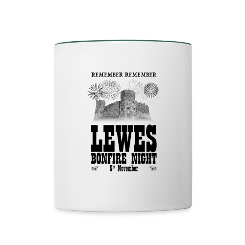 Lewes Bonfire Mug - Contrasting Mug