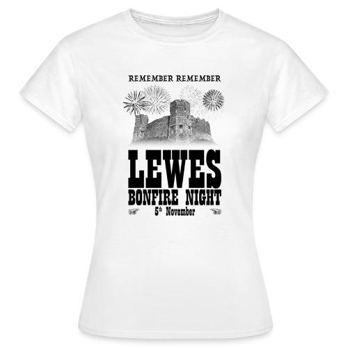 Lewes Bonfire Commemorative Ladies Shirt - Women's T-Shirt