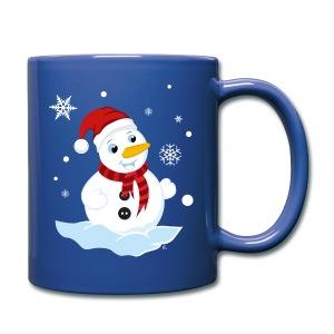Tasse Bonhomme de Neige - Tasse en couleur