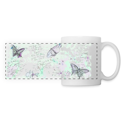 Animal Planet Schmetterlinge Tasse - Panoramatasse