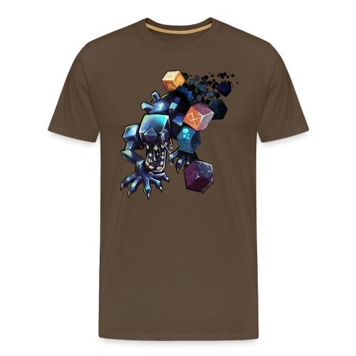 Alien on a Tshirt - Men's Premium T-Shirt