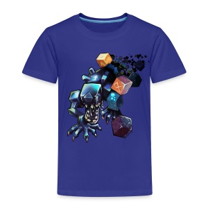 Alien on a Tshirt - Kids' Premium T-Shirt