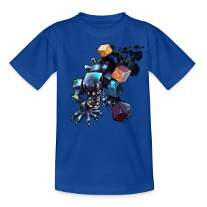 Alien on a Tshirt - Kids' T-Shirt