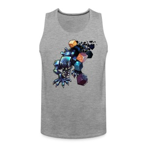 Alien on a Shirt - Men's Premium Tank Top