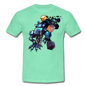 Alien on a Tshirt - Men's T-Shirt