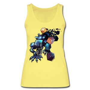 Alien on a Shirt - Women's Organic Tank Top by Stanley & Stella