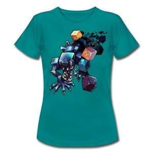 Alien on a Tshirt - Women's T-Shirt