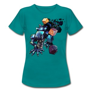Alien on a Tshirt - Women's T-Shirt