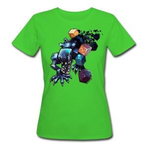 Alien on a Tshirt - Women's Organic T-shirt