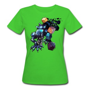 Alien on a Tshirt - Women's Organic T-shirt