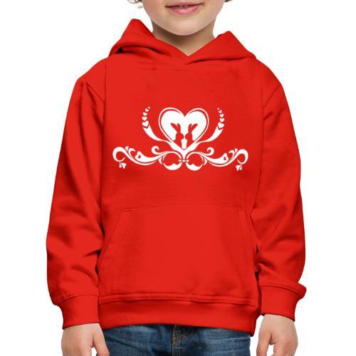 Hasenliebe - Kinder Premium Hoodie