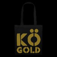 Taschen & Rucksäcke ~ Stoffbeutel ~ kö-gold