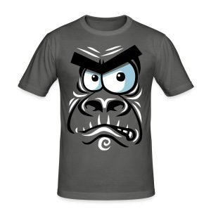 Angry gorilla - Tee shirt près du corps Homme