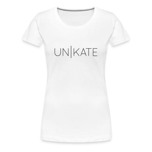 Unikate T-Shirt White/Women - Frauen Premium T-Shirt
