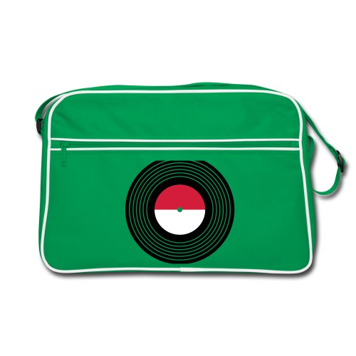 Vinyl Shoulder Bag - Retro Bag