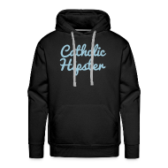 Hoodies & Sweatshirts ~ Men's Premium Hoodie ~ CATHOLIC HIPSTER