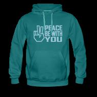 Hoodies & Sweatshirts ~ Men's Premium Hoodie ~ PEACE BE WITH YOU