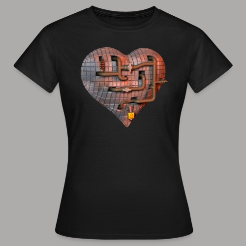 LockDown Hart - Vrouwen T-shirt