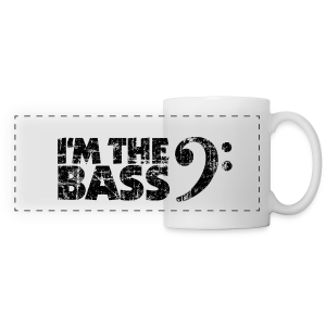 I'm the Bass Basschlüssel Vintage Schwarz