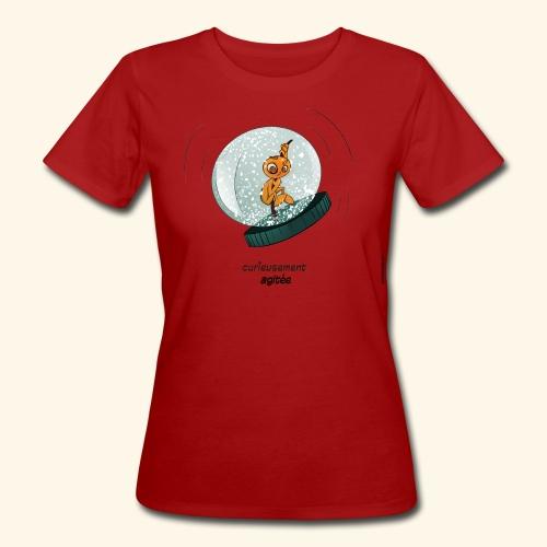 T-shirt - Curieusement agitée - T-shirt bio Femme