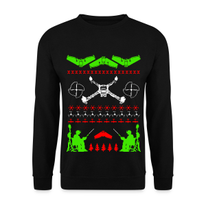 Hideous Holiday Sweater - Men's Sweatshirt