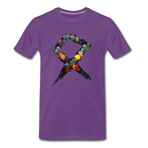 Rune on a Tshirt - Men's Premium T-Shirt