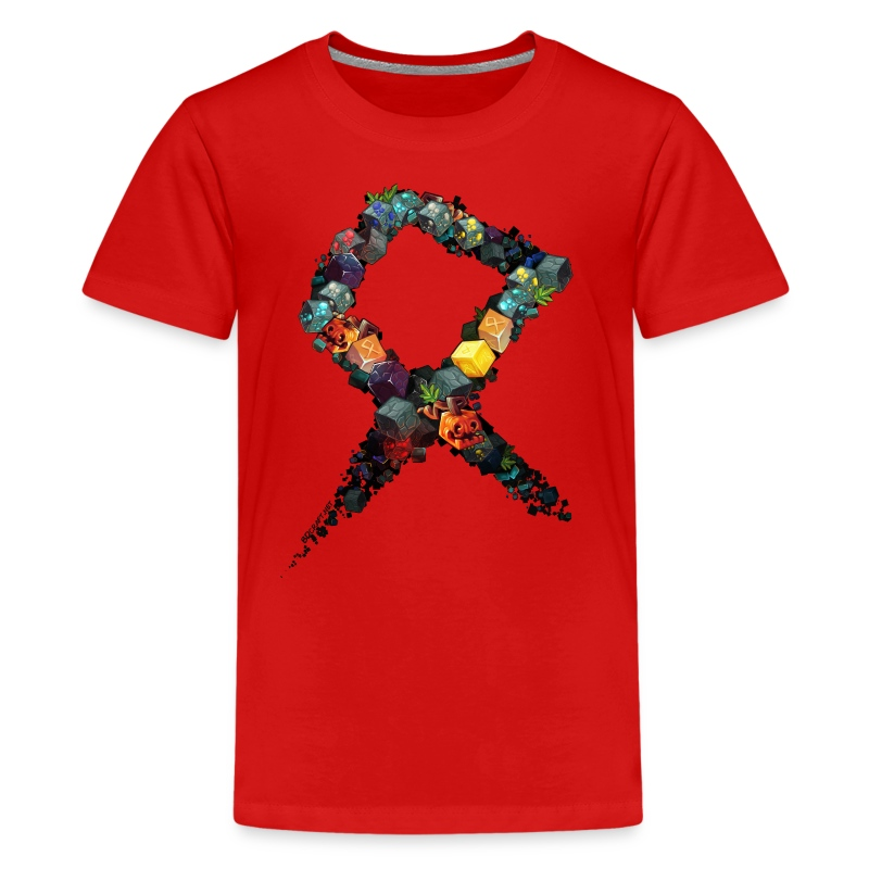 Rune on a Tshirt - Teenage Premium T-Shirt